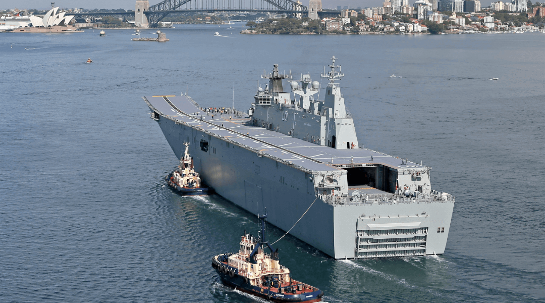 Landing Helicopter Dock (LHD)