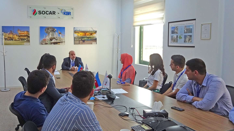 IMPACT Baku Boardroom