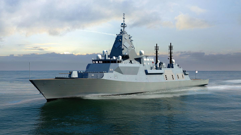 SEA-5000 Hunter class frigate