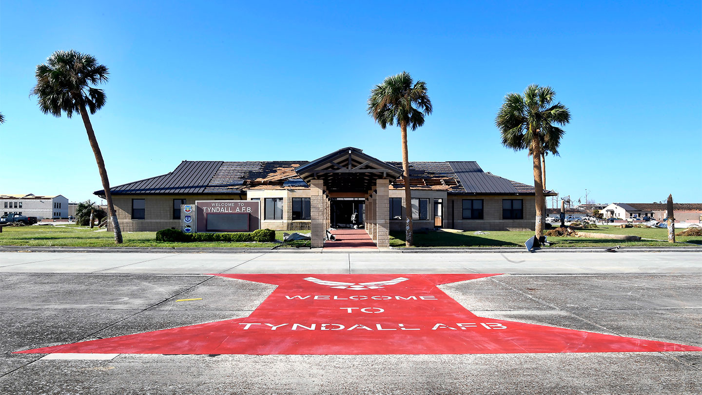 Tyndall Welcome Center