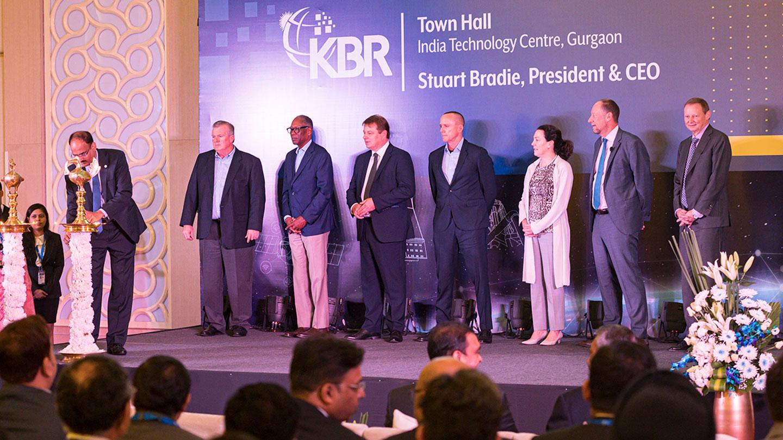 KBR Leadership and Board Delhi Town Hall
