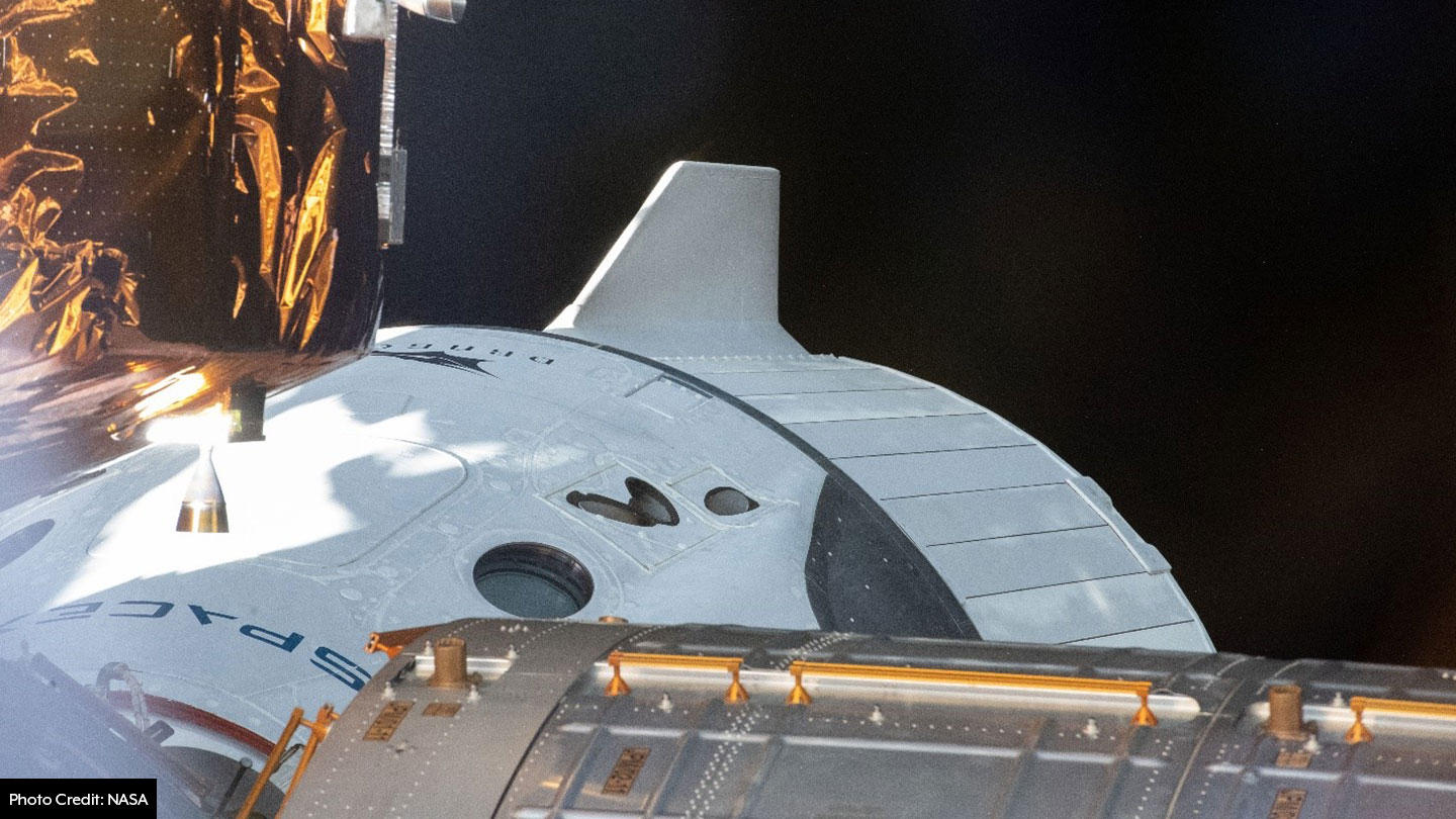 SpaceX Dragon Docked with ISS