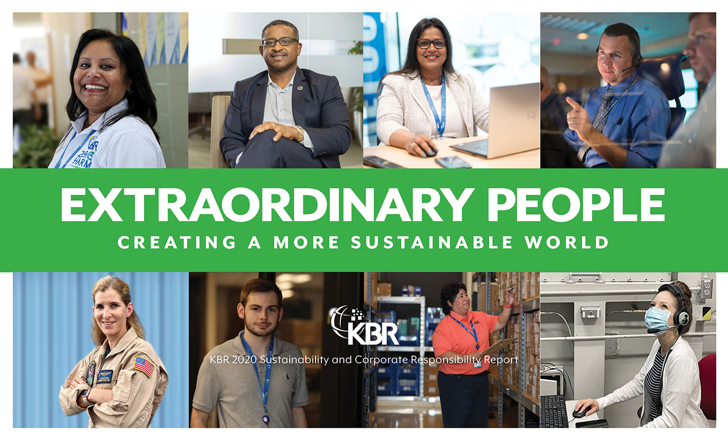 KBR Sustainability and Corporate Responsibility Report 2020
